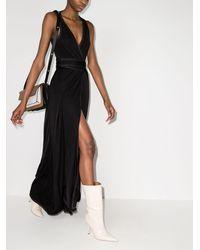 Golden Goose Cleopatra マキシ ドレス - ブラック