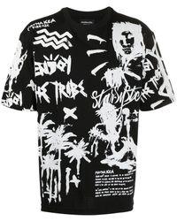 Mauna Kea プリント Tシャツ - ブラック