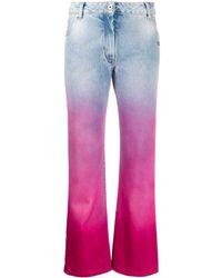 Off-White c/o Virgil Abloh Degrade Cropped Jeans - Blue