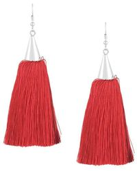 Eddie Borgo - Long Tassel Earrings - Lyst