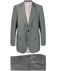 Brioni Single Breasted Suit - Gray