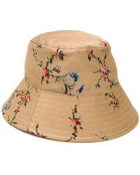 Preen By Thornton Bregazzi - Sombrero de pescador con motivo floral - Lyst c796a09fd09