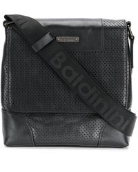 Baldinini - Perforated Messenger Bag - Lyst