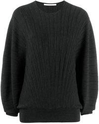 Agnona リブニット セーター - ブラック