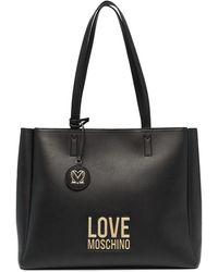 Love Moschino ロゴ トートバッグ - ブラック
