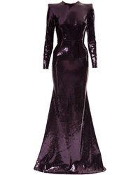 Alex Perry Felix イブニングドレス - ブラック