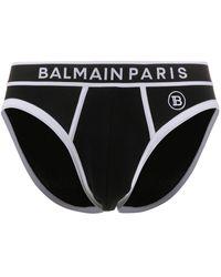 Balmain ロゴショーツ - ブラック
