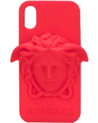 Versace IPhone X-Hülle mit Medusa - Rot