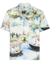 Off-White c/o Virgil Abloh Lake Holiday Shirt - Multicolour