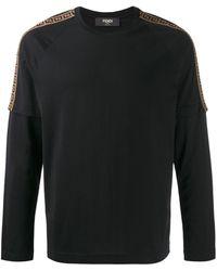 Fendi - レイヤード ロングtシャツ - Lyst
