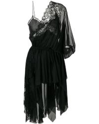Faith Connexion - Hi-low Lace Dress - Lyst
