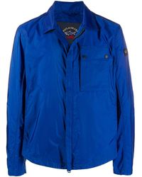 Paul & Shark Single-breasted Fitted Jacket - Blue