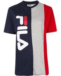 Fila - カラーブロック Tシャツ - Lyst
