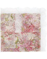 Faliero Sarti Floral-print Scarf - Pink