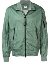 C P Company Lightweight Lens Jacket - Green