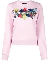 Love Moschino - スター セーター - Lyst