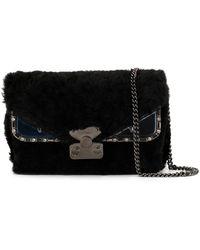 Fendi Bag Bugs Crossbody Bag - Black