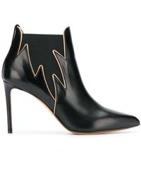 Francesco Russo Ankle Boots - ブラック