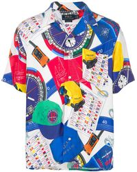 Polo Ralph Lauren - Printed Short-sleeve Shirt - Lyst