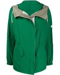 Army by Yves Salomon Iconic Waterproof Parka - Green