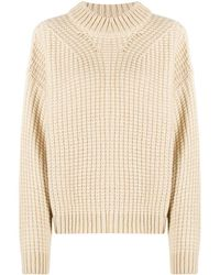 Essentiel Antwerp Chunky Ribbed-knit Jumper - Natural