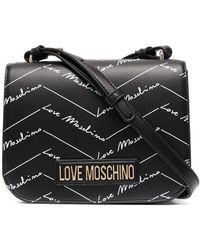 Love Moschino Сумка Через Плечо С Логотипом - Черный