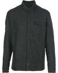 Aztech Mountain Sopris Quilted Overshirt - Black