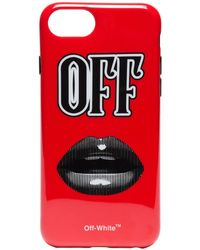 Off-White c/o Virgil Abloh - Lips Iphone 8 Case - Lyst