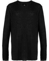 Thom Krom Camiseta de manga larga - Negro