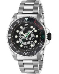 Gucci Dive 45mm Horloge - Metallic