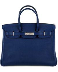 Hermès Pre-owned Birkin Handtasche, 35cm - Blau