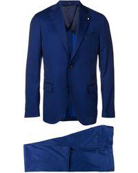 Lardini Esmoquin de dos piezas - Azul