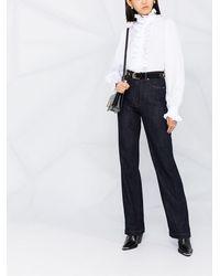 Dolce & Gabbana ハイウエスト ブーツカットジーンズ - ブルー