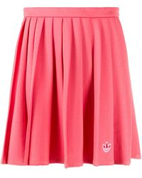 adidas Юбка С Вышитым Логотипом - Розовый