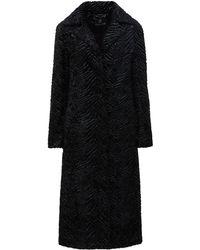 Unreal Fur Manteau Stardust - Noir