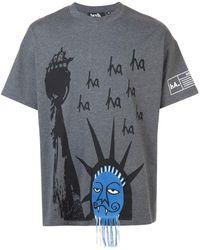 Haculla - Ha Ha Liberty ドロップtシャツ - Lyst