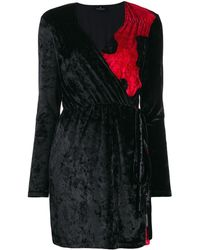Marcelo Burlon Chenille Camouflage Dress - Black