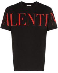 Valentino - ロゴ Tシャツ - Lyst