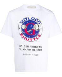 Golden Goose Deluxe Brand Golden Shuttle Tシャツ - ホワイト
