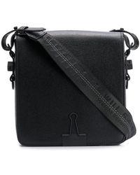 Off-White c/o Virgil Abloh Logo Cross-body Bag - Black