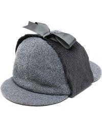 Anglozine Don Deerstalker Hat - Black
