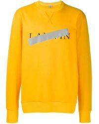 Lanvin - ロゴ スウェットシャツ - Lyst