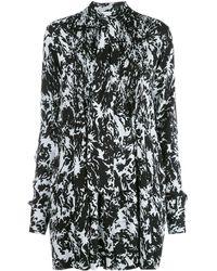 PROENZA SCHOULER WHITE LABEL Платье С Принтом - Черный