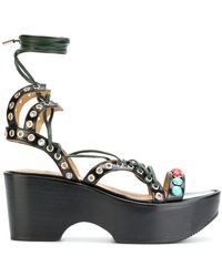 Toga Pulla - Platform Studded Sandals - Lyst