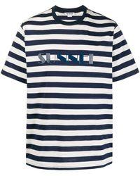 Sunnei - ストライプ ロゴ Tシャツ - Lyst