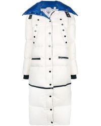 Rossignol Long Puffer Coat - White