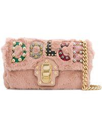 Dolce & Gabbana Borsa a spalla Lucia - Rosa