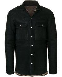Rick Owens Outhershirt ジャケット - ブラック