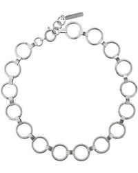 Justine Clenquet - Chain Link Necklace - Lyst