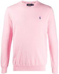 Ralph Lauren ロゴ プルオーバー - ピンク